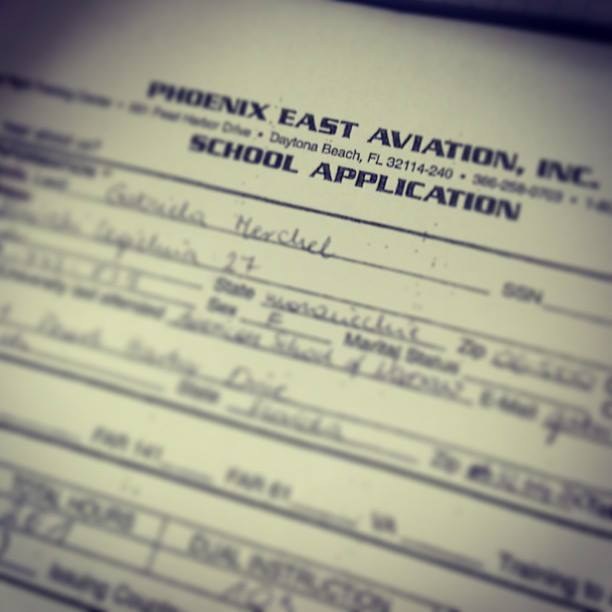 Phoenix east aviation application form