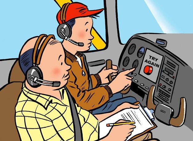 Phoenix East Aviation | What Happens if a Student Fails a