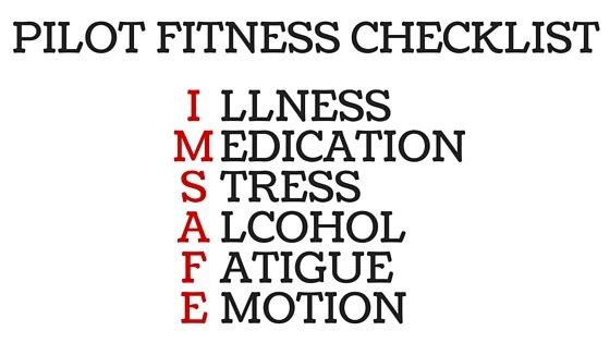 Pilot IMSAFE Checklist